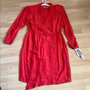 Liz Claiborne Silk Wrap Dress
